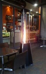 Газовый уличный обогреватель SIABS Kaliente LED