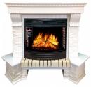 Портал Royal Flame Pierre Luxe белый сланец угловой для очага Dioramic 25