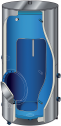 Теплоаккумулятор Atlantic Corhydro 1500L