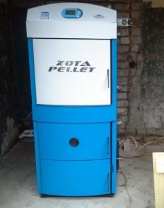 Твердотопливный котел ZOTA Pellet 40S